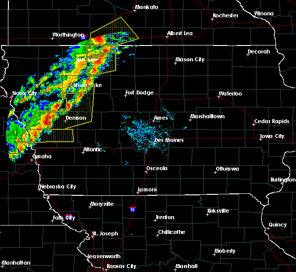 Radar Image for Severe Thunderstorms near Ayrshire, IA at 9/20/2018 5:44 PM CDT