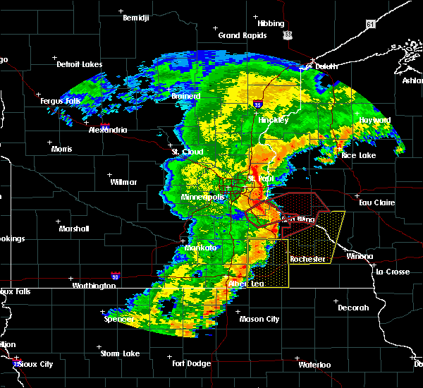 Radar Image for Severe Thunderstorms near Red Wing, MN at 9/20/2018 7:20 PM CDT