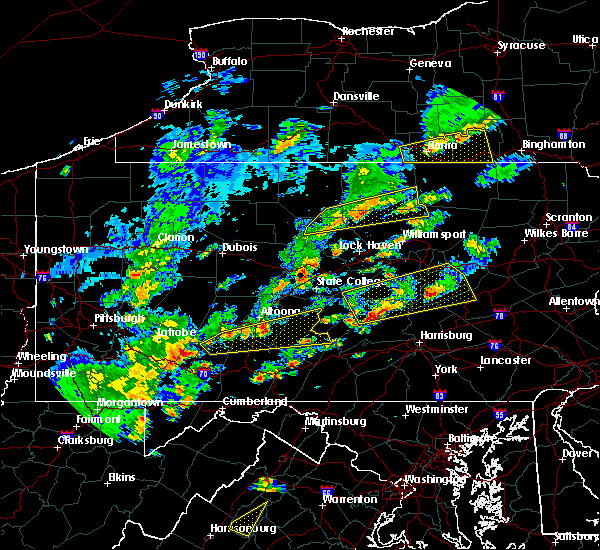 Radar Image for Severe Thunderstorms near Dunlo, PA at 6/8/2015 3:26 PM EDT