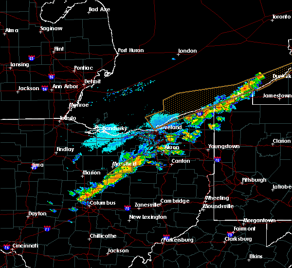 Radar Image for Severe Thunderstorms near Lucas, OH at 9/21/2018 5:06 PM EDT