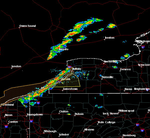 Radar Image for Severe Thunderstorms near Ripley, NY at 9/21/2018 5:18 PM EDT