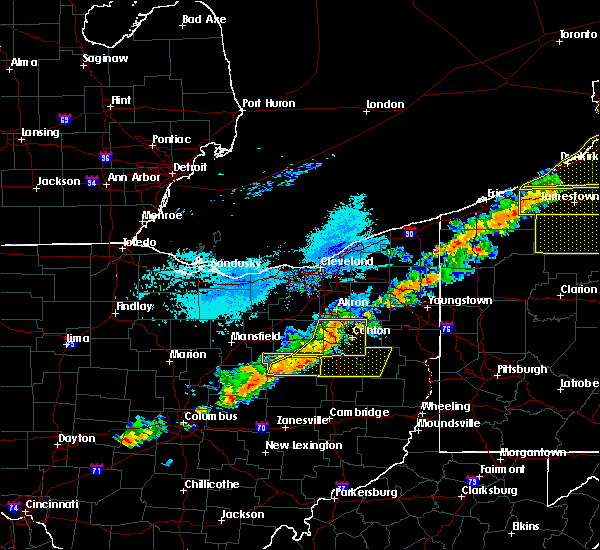 Radar Image for Severe Thunderstorms near Sandyville, OH at 9/21/2018 5:51 PM EDT