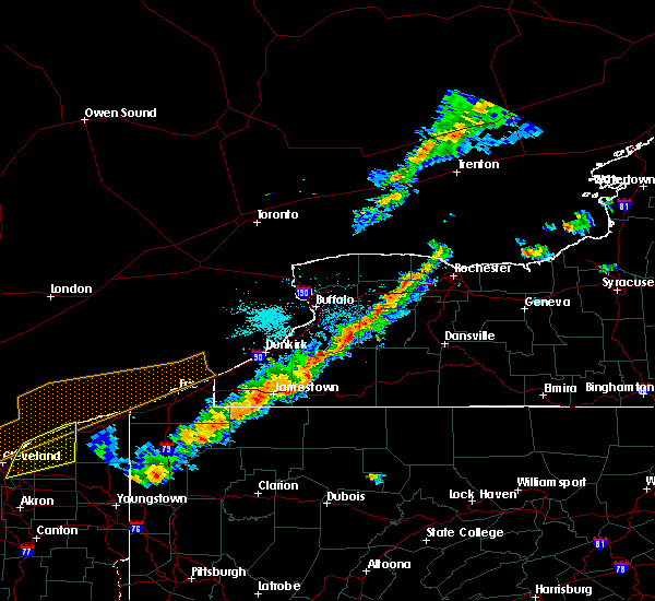 Radar Image for Severe Thunderstorms near Panama, NY at 9/21/2018 6:15 PM EDT