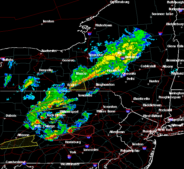 Radar Image for Severe Thunderstorms near Erin, NY at 6/8/2015 3:35 PM EDT