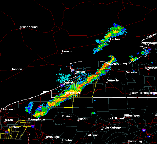 Radar Image for Severe Thunderstorms near Castile, NY at 9/21/2018 6:34 PM EDT