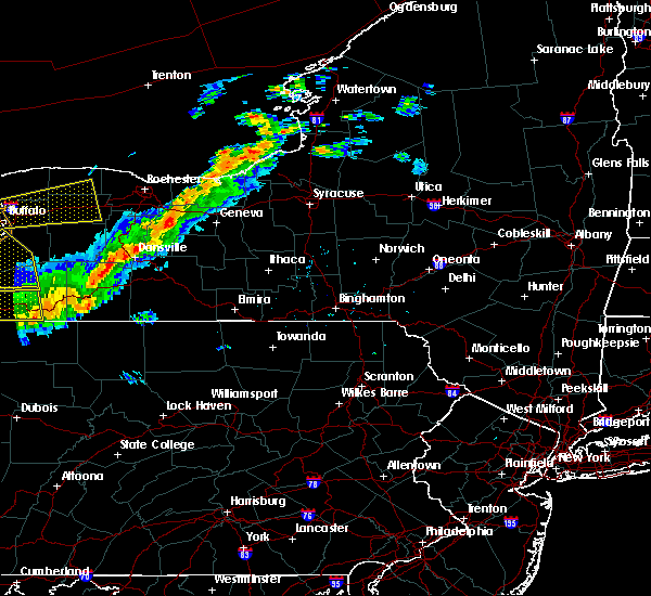 Radar Image for Severe Thunderstorms near Shortsville, NY at 9/21/2018 7:11 PM EDT