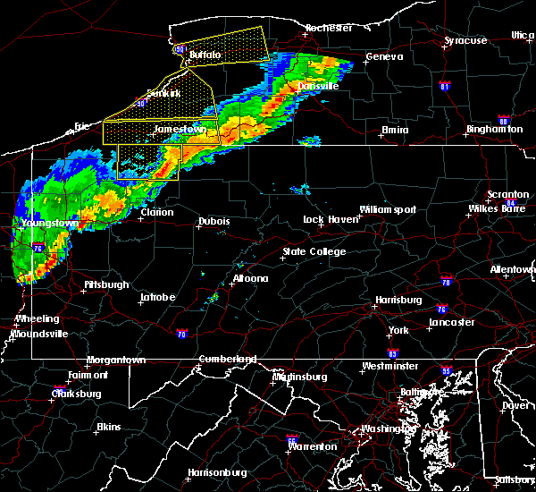 Radar Image for Severe Thunderstorms near Hasson Heights, PA at 9/21/2018 7:17 PM EDT