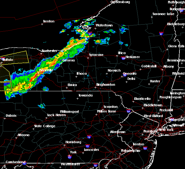 Radar Image for Severe Thunderstorms near Addison, NY at 9/21/2018 7:23 PM EDT