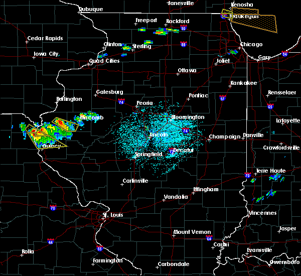 Radar Image for Severe Thunderstorms near Colchester, IL at 6/8/2015 2:45 PM CDT