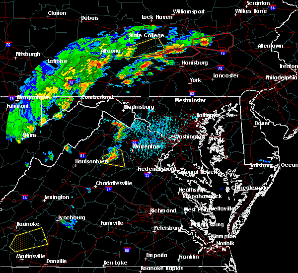 Radar Image for Severe Thunderstorms near Charles Town, WV at 6/8/2015 3:49 PM EDT
