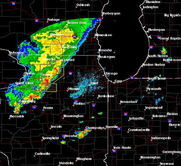 Radar Image for Severe Thunderstorms near Elgin, IL at 9/25/2018 4:05 PM CDT