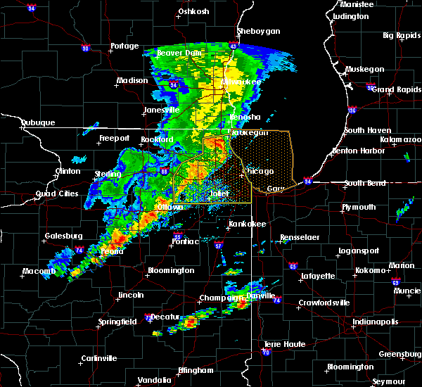 Radar Image for Severe Thunderstorms near Burnham, IL at 9/25/2018 5:19 PM CDT