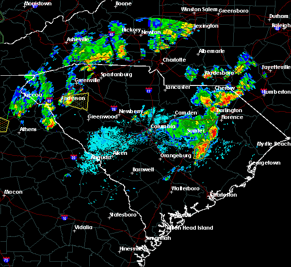 Radar Image for Severe Thunderstorms near Manning, SC at 9/26/2018 5:24 PM EDT