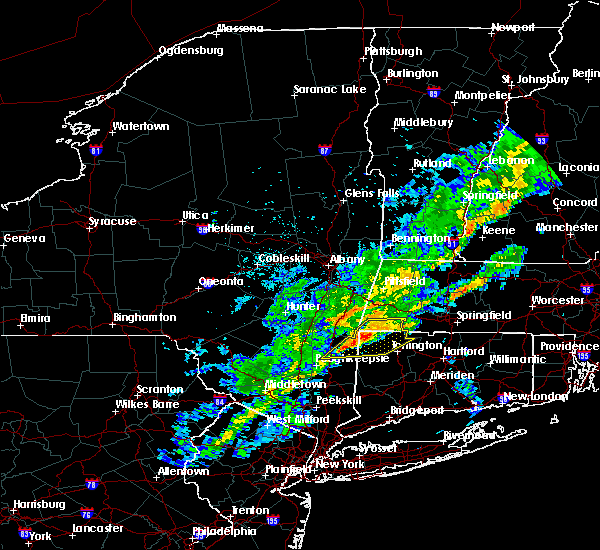 Radar Image for Severe Thunderstorms near Canaan, CT at 9/26/2018 8:03 PM EDT