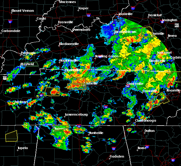 Radar Image for Severe Thunderstorms near Scottsville, KY at 6/8/2015 3:23 PM CDT