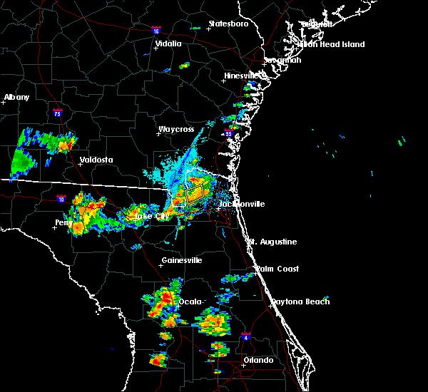 Radar Image for Severe Thunderstorms near Nassau Village-Ratliff, FL at 9/28/2018 6:29 PM EDT