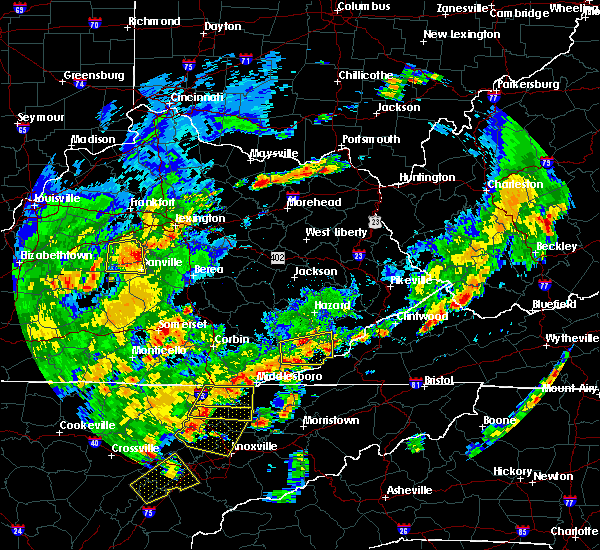 Radar Image for Severe Thunderstorms near Burgin, KY at 6/8/2015 4:22 PM EDT