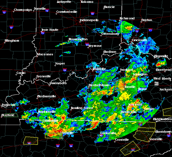 Radar Image for Severe Thunderstorms near Harrodsburg, KY at 6/8/2015 4:22 PM EDT