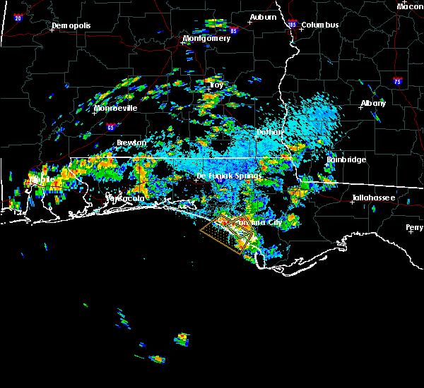 Radar Image for Severe Thunderstorms near Lynn Haven, FL at 9/30/2018 3:08 PM CDT