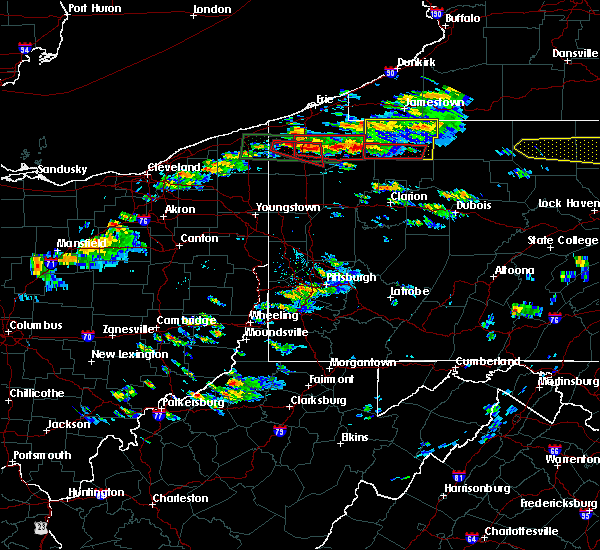 Radar Image for Severe Thunderstorms near Meadville, PA at 10/2/2018 3:44 PM EDT