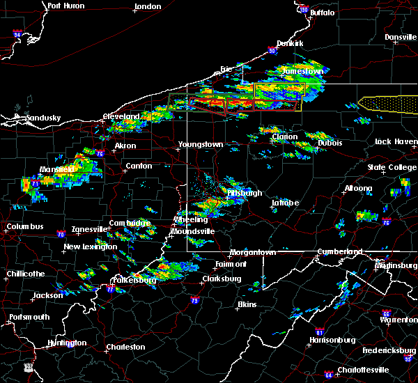 Radar Image for Severe Thunderstorms near Titusville, PA at 10/2/2018 3:47 PM EDT