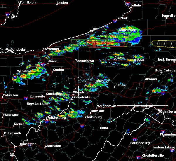 Radar Image for Severe Thunderstorms near Meadville, PA at 10/2/2018 3:53 PM EDT