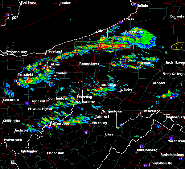 Radar Image for Severe Thunderstorms near Titusville, PA at 10/2/2018 4:11 PM EDT