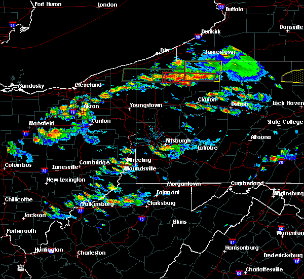 Radar Image for Severe Thunderstorms near Titusville, PA at 10/2/2018 4:18 PM EDT