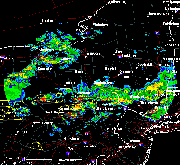 Radar Image for Severe Thunderstorms near West Falls, PA at 10/2/2018 4:30 PM EDT