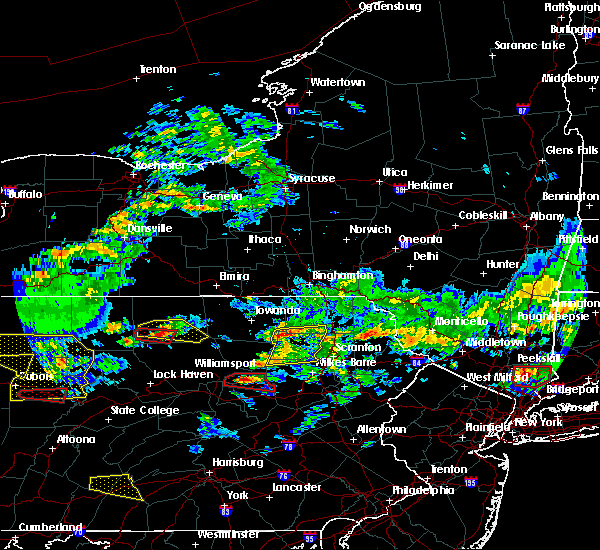 Radar Image for Severe Thunderstorms near West Falls, PA at 10/2/2018 4:46 PM EDT