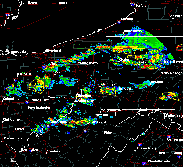 Radar Image for Severe Thunderstorms near Elizabeth, PA at 10/2/2018 4:53 PM EDT