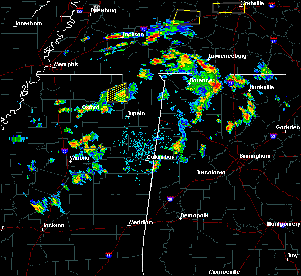 Radar Image for Severe Thunderstorms near Blue Mountain, MS at 6/8/2015 3:29 PM CDT