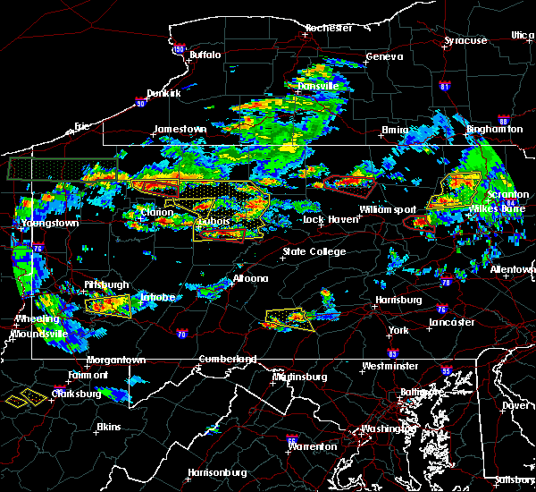 Radar Image for Severe Thunderstorms near Marienville, PA at 10/2/2018 5:02 PM EDT