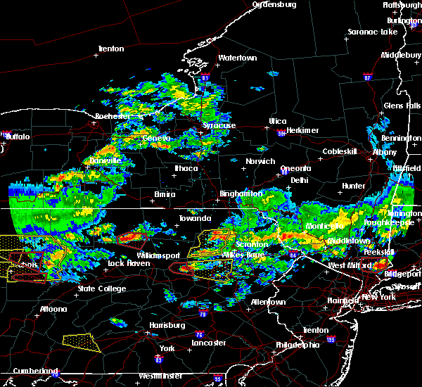 Radar Image for Severe Thunderstorms near Sugar Notch, PA at 10/2/2018 5:06 PM EDT