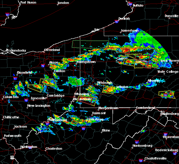 Radar Image for Severe Thunderstorms near Manor, PA at 10/2/2018 5:14 PM EDT