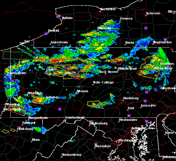 Radar Image for Severe Thunderstorms near Marienville, PA at 10/2/2018 5:14 PM EDT