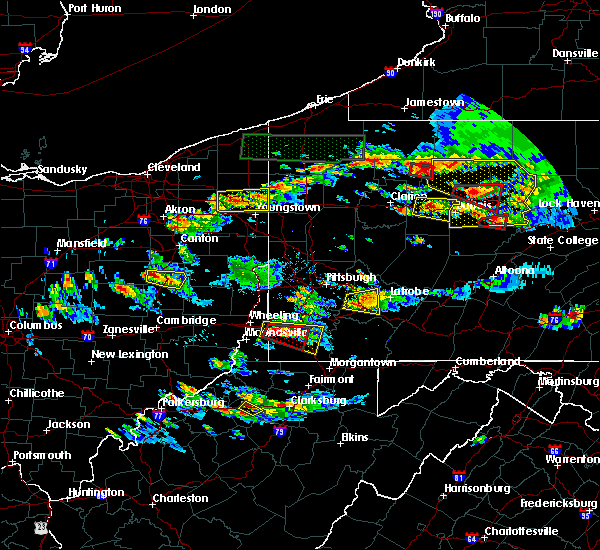 Radar Image for Severe Thunderstorms near Girard, OH at 10/2/2018 5:18 PM EDT