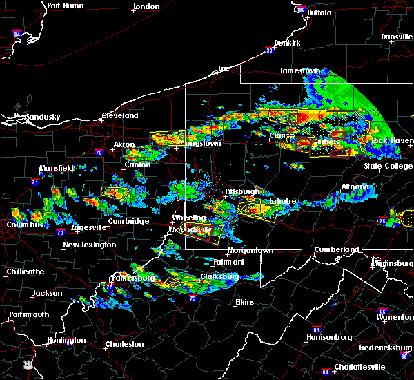 Radar Image for Severe Thunderstorms near Manor, PA at 10/2/2018 5:28 PM EDT