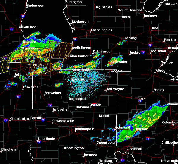 Radar Image for Severe Thunderstorms near Niles, MI at 6/8/2015 4:33 PM EDT