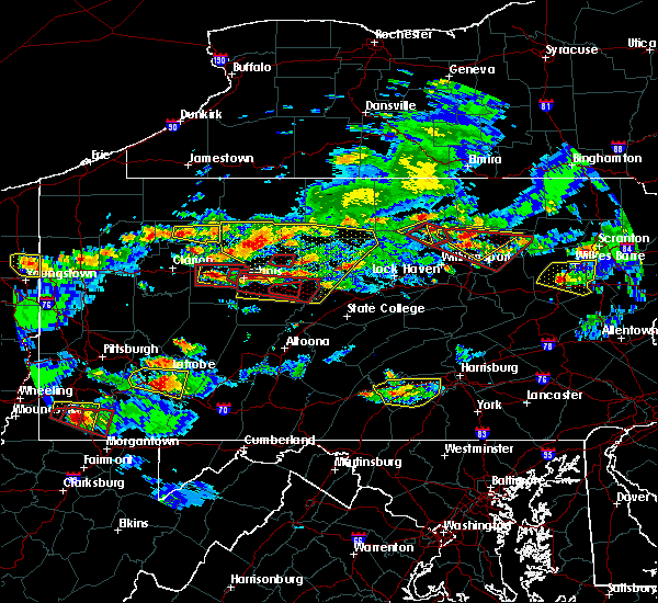 Radar Image for Severe Thunderstorms near Marienville, PA at 10/2/2018 5:44 PM EDT