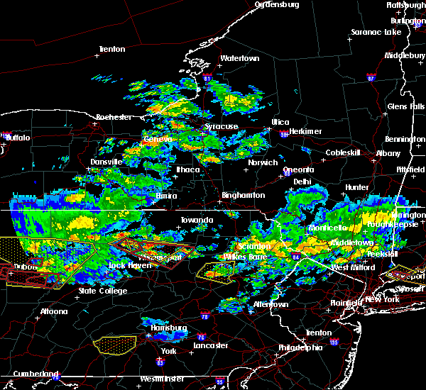 Radar Image for Severe Thunderstorms near Picture Rocks, PA at 10/2/2018 5:43 PM EDT