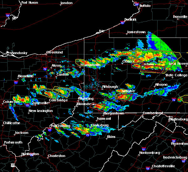 Radar Image for Severe Thunderstorms near Calumet, PA at 10/2/2018 5:52 PM EDT