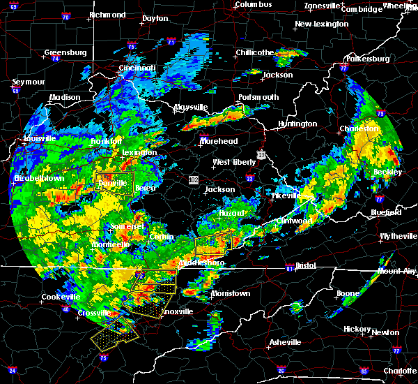 Radar Image for Severe Thunderstorms near Lancaster, KY at 6/8/2015 4:36 PM EDT