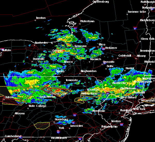 Radar Image for Severe Thunderstorms near Taylor, PA at 10/2/2018 5:55 PM EDT
