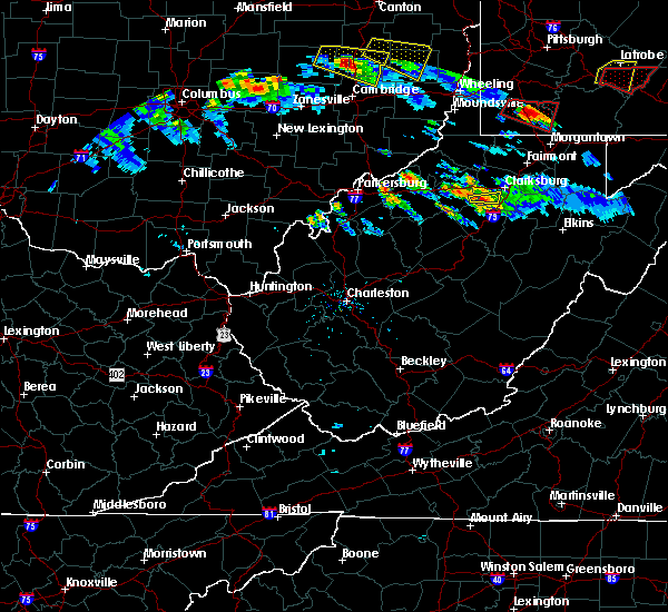 Radar Image for Severe Thunderstorms near West Milford, WV at 10/2/2018 5:55 PM EDT