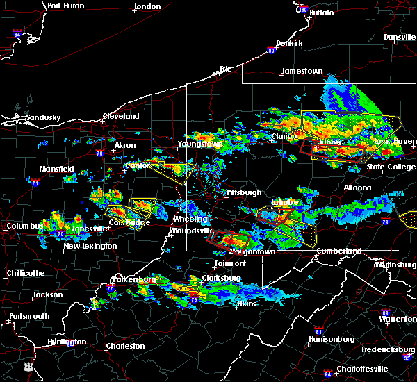 Radar Image for Severe Thunderstorms near Holloway, OH at 10/2/2018 6:11 PM EDT
