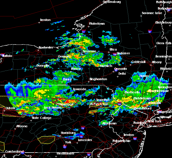 Radar Image for Severe Thunderstorms near East Side, PA at 10/2/2018 6:14 PM EDT