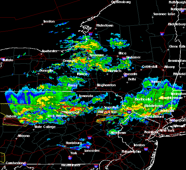 Radar Image for Severe Thunderstorms near Dunmore, PA at 10/2/2018 6:17 PM EDT