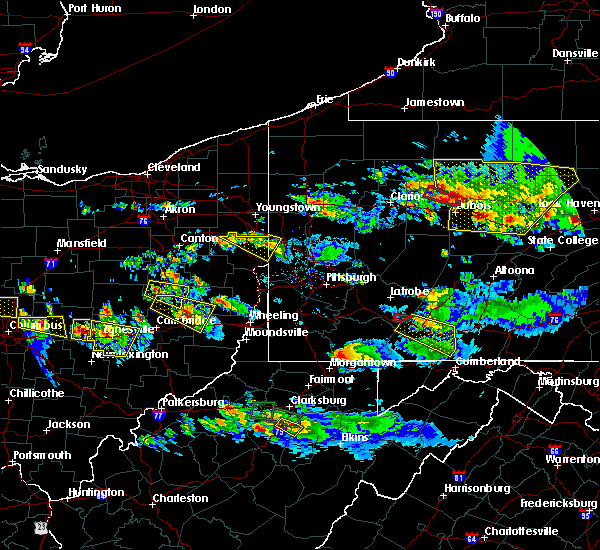Radar Image for Severe Thunderstorms near Uhrichsville, OH at 10/2/2018 6:35 PM EDT