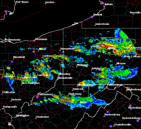 Radar Image for Severe Thunderstorms near Holloway, OH at 10/2/2018 6:39 PM EDT